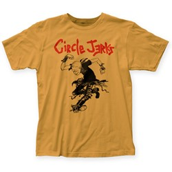 Circle Jerks - Mens Skank Man Fitted T-Shirt