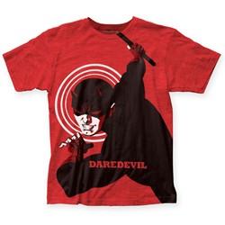 Marvel Comics - Mens Michael Cho Daredevil Big Print T-Shirt