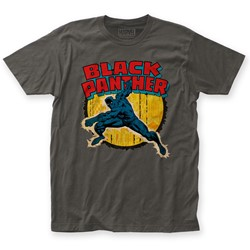 Black Panther - Mens Punch Fitted T-Shirt