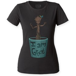 Guardians of the Galaxy - Womens Dancing Groot T-Shirt