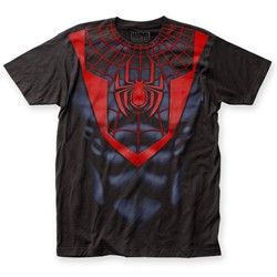 Spider-Man - Mens Morales Suit Big Print T-Shirt