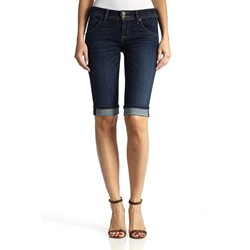Hudson - Womens Palerme Knee Cuffed Jeans