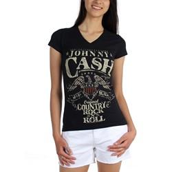 Johnny Cash - Womens Country Rock T-Shirt