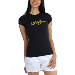 Living Colour - Womens Logo Reduced Babydoll T-Shirt