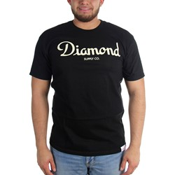 Diamond Supply Co. - Mens Champagne Script T-Shirt