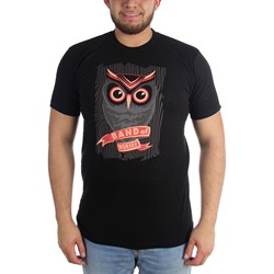 Band Of Horses - Mens Owl Fitted T-Shirt