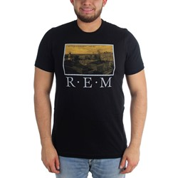 R.E.M. - Mens Postcard Fitted T-Shirt