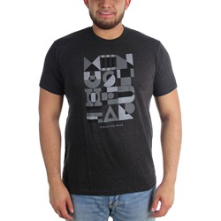 Minus The Bear - Mens Geometric Fitted T-Shirt