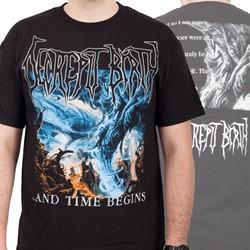 Decrepit Birth - Mens And Time Begins T-Shirt