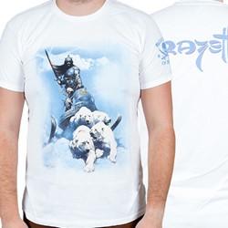 Frazetta - Mens Silver Warrior T-Shirt