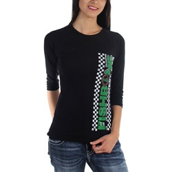 Fishbone - Womens Checkered Est. 1985 Girls T-Shirt