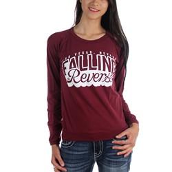 Falling In Reverse - Womens Cursive Longsleeve T-Shirt