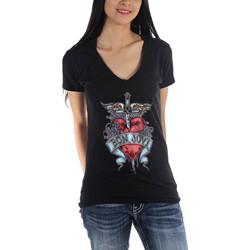 Bon Jovi - Womens Heart & Dagger T-Shirt