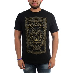 Clutch - Mens All Seeing Owl T-Shirt