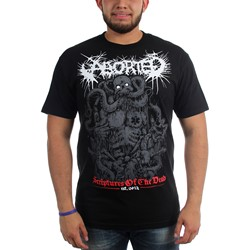 Aborted - Mens Scriptures T-Shirt