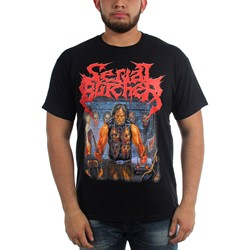 Serial Butcher - Mens A Crash Course In Cranimum Crushing T-Shirt