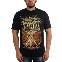 Cattle Decapitation - Mens Vitruvian T-Shirt