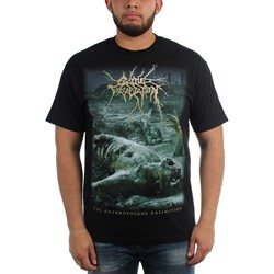 Cattle Decapitation - Mens Anthropocene Extinction T-Shirt