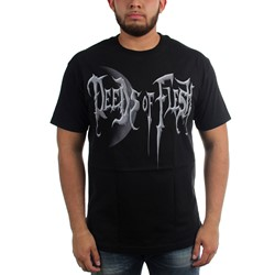 Deeds of Flesh - Mens Portals Moon T-Shirt
