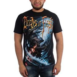 Deeds of Flesh - Mens Portals LP Cover T-Shirt
