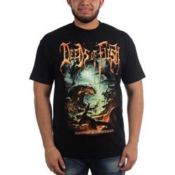 Deeds of Flesh - Mens Portals To Canaan T-Shirt