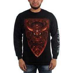 Deeds of Flesh - Mens Mark Of The Legion Longsleeve T-Shirt