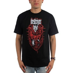 Destroyer 666 - Mens Wolf T-Shirt