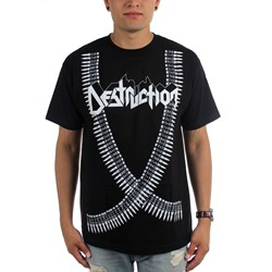 Destruction - Mens Bullet Belt T-Shirt