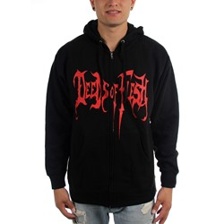 Deeds of Flesh - Mens Cannibal Zip-Up Hoodie