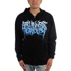 Abominable Putridity - Mens The Anomalies of Artificial Origin Zip-Up Hoodie
