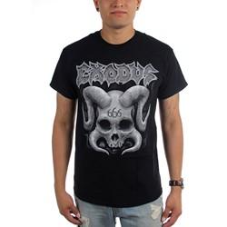 Exodus - Mens Horned Skull T-Shirt