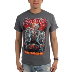 Exodus - Mens Blood in Blood Out Demons Charcoal T-Shirt