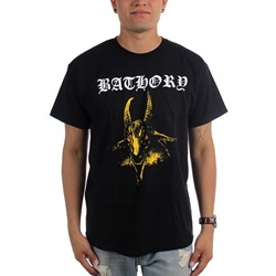 Bathory - Mens Yellow Goat T-Shirt