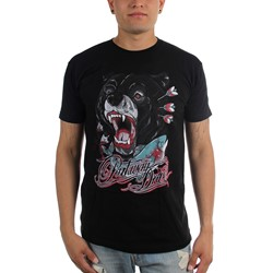 Parkway Drive - Mens Bear And Salmon T-Shirt