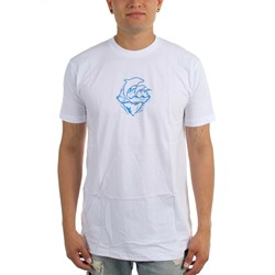 Pink Dolphin - Mens Waves Prayer T-Shirt