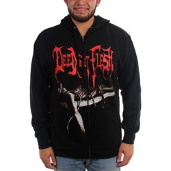 Deeds of Flesh - Mens Trading Pieces Zip-Up Hoodie