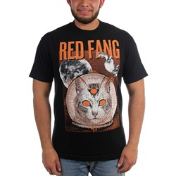 Red Fang - Mens Space Cat T-Shirt