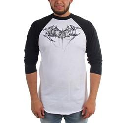 Psycroptic - Mens Dripping Logo Raglan Raglan T-Shirt