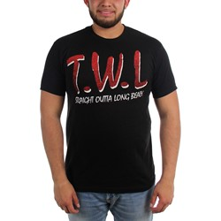 This Wild Life - Mens Straight Out Long Beach T-Shirt