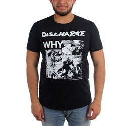Discharge - Mens Why? T-Shirt