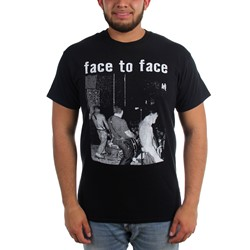 Face To Face - Mens Live T-Shirt