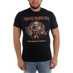 Iron Maiden - Mens Book of Souls Eddie Tee T-Shirt