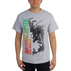 Bob Marley - Mens Natural Mystic T-Shirt