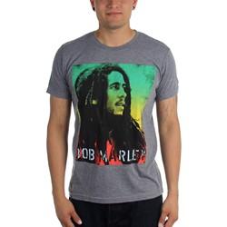 Bob Marley - Mens Rasta Gradient T-Shirt