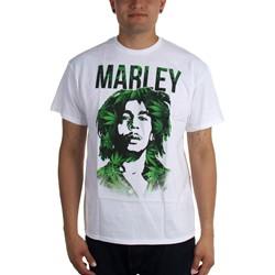 Bob Marley - Mens Leaves Silo T-Shirt