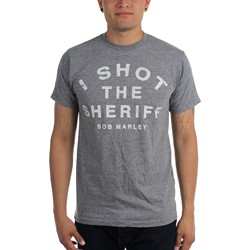 Bob Marley - Mens I Shot The Sheriff Triblend T-Shirt
