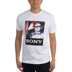 The Sony iLL Kim Jong (The Interview) Mens T-shirt in White