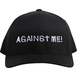 Against Me - Mens Embroidered Logo Flexfit Hat