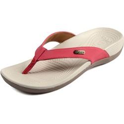 Crocs - Womens Crocs Ella ComfortPath Flip Sandals