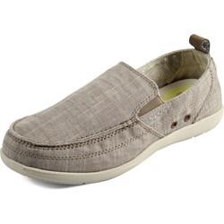 Crocs - Mens Walu Chambray Slip On Shoes